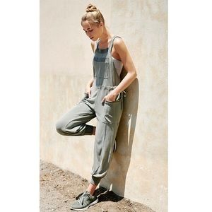 Free People Movement Overall Jumpsuit Joggers M